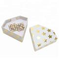 Diamond Shape Paper Packaging Jewelry Earring Box