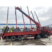 CLW 8x4 16 tons 5 arm crane truck