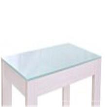 Limpar o vidro de folha moderado para jantar / mesa de vidro de café