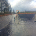HDPE/LDPE Type Impermeable Geomembrane for Dam Liner 1.2mm