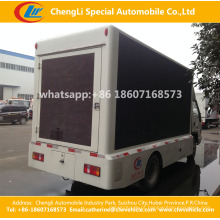 HOWO Mobile Moving Publicidade LED Display Truck