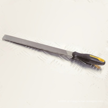 A mão utiliza ferramentas o OEM DIY dos arquivos de aço / decoração / construção
