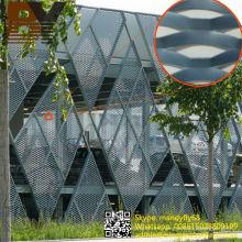 Panel de aluminio con recubrimiento de aluminio para pared externa