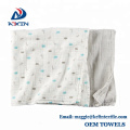 100% Breathable Organic Cotton Swaddle Blankets 120x120cm Super Soft Baby Blanket