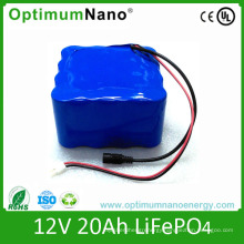 Rechargeable Lithium Ion Battery 12V 20ah