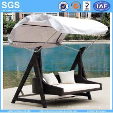 Наружная мебель для сада Ротанг Качели кресла Качели Диван с навесом