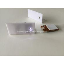 Exposição acrílica com módulo do diodo emissor de luz, etiqueta acrílica do preço da caixa do diodo emissor de luz, caixa acrílica conduzida para o preço