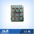 Squared Phone Keypad with Backlight, Rugged Phone Keypad, Metal Keyboard
