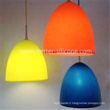 Couvercle de lampe en silicone personnalisé Souvenir