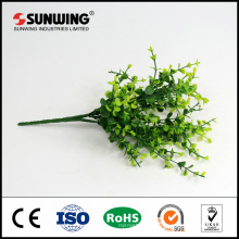 fire-resistant green artificial ivy spray stem for outdoor decoration