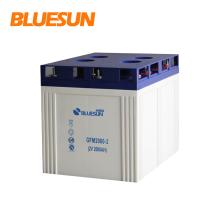 Factory direct supply 150ah gel solar battery