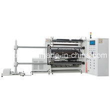 High Speed Slitting and Rewinding Machine with Unwind Web Clamp Table