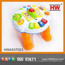 Niños electrónicos vendedores calientes del órgano del juguete musical del bebé que aprenden la tabla