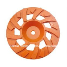 TGP grinding cup wheel for concrete grinding