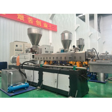 High capacity&environmental plastic twin screw extruder