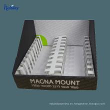 Soporte de mostrador de cartón de papel al por menor de gran escala