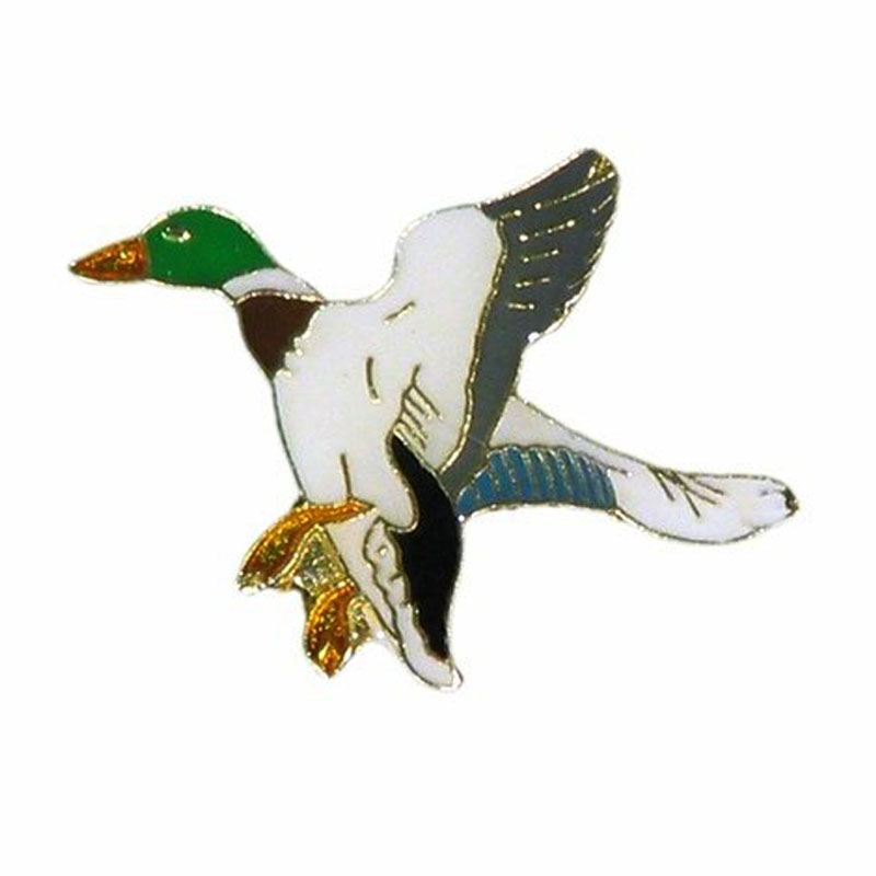 Duck Wildlife Animal Metal Lapel Pin