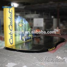 suelo personalizado de la feria profesional de aluminio