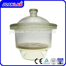Лаборатория Джоан стеклянный Эксикатор с поставщиком фарфоровой тарелке