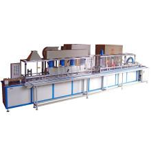 Machine de revêtement électrostatique en poudre pour micro-moteur ou petite armature à moteur électrique