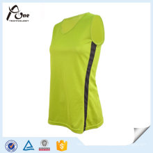 V-Neck Tank Top Wholesale Gym Wear for Women