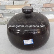 marble stone bowl with lid /dolsot /jar with lid /Jars Used for Korean Cooking and Recipes,stone sugar bowl with lid