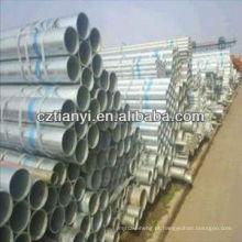 ASTM A179 tubo de aço sem costura galvanizado