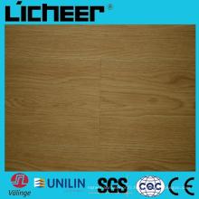 Plancher en stratifié Wpc Revêtement de sol composite 8,0 mm Plancher Wpc Plancher en bois Wcc haute densité 6inx48in