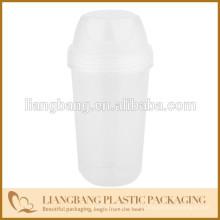 Пластиковая чаша на 7 унций с винтовой крышкой