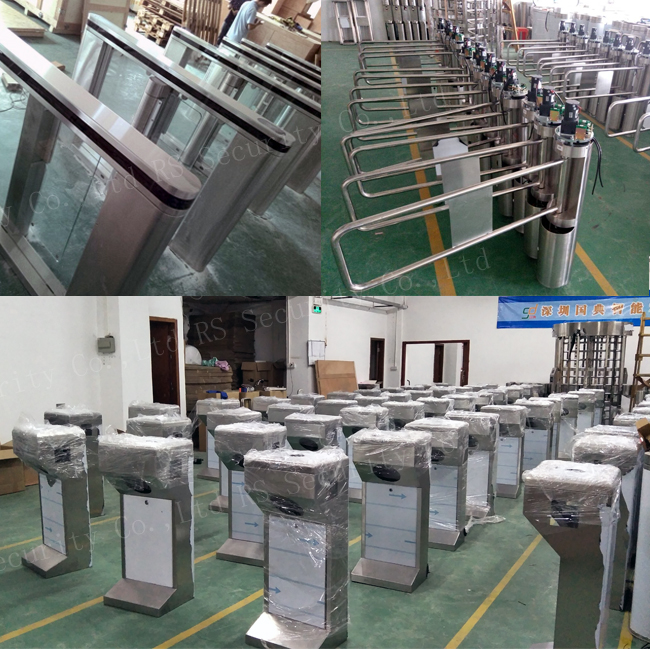 Flap Barrier Turnstile Gate