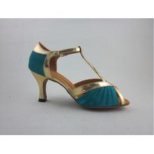 Κορίτσια μπλε σατέν λατινικά παπούτσια