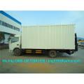 Euro II o Euro IV DFAC 6-7T camioneta furgoneta / camioneta furgoneta / furgoneta de ala con portón trasero hidráulico