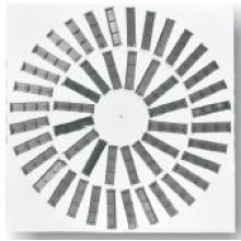 HAVC Systems Ventilation Iron Sheet Adjustable Blades Swirl Diffuser