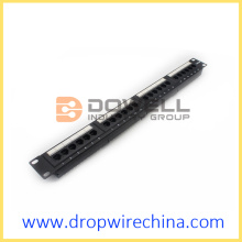 24 Port Cat 5e UTP patch panel