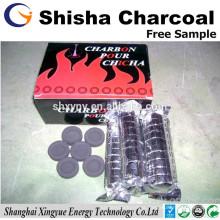 Aplicação de cachimbo de coco shisha de carvão vegetal