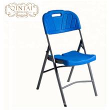 Chaises pliantes de pique-nique en plastique de jardin extérieur et meubles de table