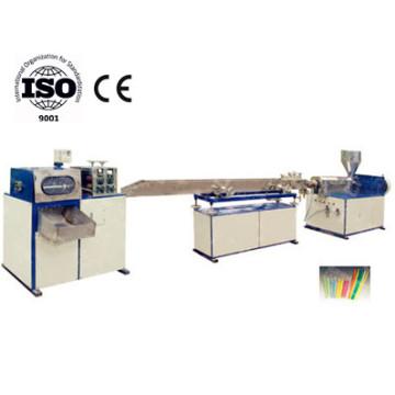 Machine professionnelle de fabrication de paille à boire