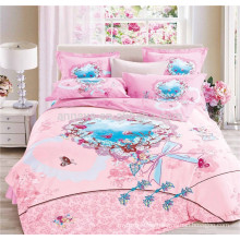 100 Cotton Fabric Blanket from China Factory Bedclothes 3D Bedding Set