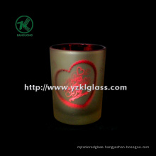 Single Color Glass Candle Cup by SGS (dia 8*10.5)