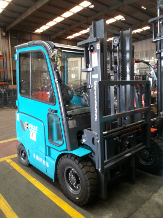 Explosion Protected Electric Forklift