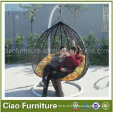 Hammock Round Rattan Handing Loveseat Swing Chair (CF1033H-2)