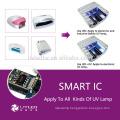 Professional 365nm+405nm 9w 12v uv Lamp for gel nails/Newest fast curing led uv nail lamp nail art polish gel uv led 365nm