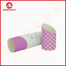 Gift Packaging Chamfer Cylinder Customized Paper Tube