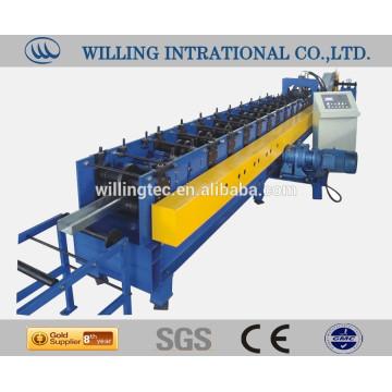 steel C purlins steel roll forming machine
