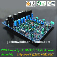 aluminum led pcb assembly UHF and VHF pcb board and board pcb assembly