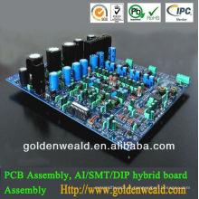 conjunto conduzido de alumínio do PWB Placa do PWB da UHF e do VHF e conjunto do PWB da placa