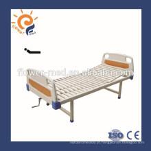 Personalizado manual metal enfermagem cama