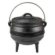 south african cast iron three leg  potjie