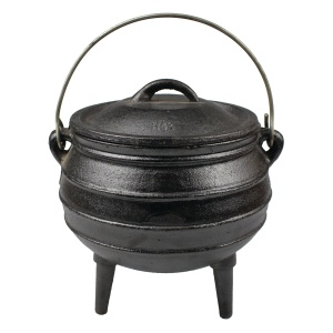 Sydafrika Cast Iron Potjies Pot
