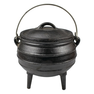 Wax Coating Cast Iron Potjie